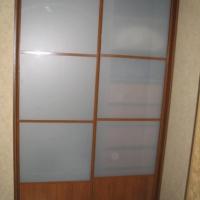 Встроенный двухдверный шкаф купе 6