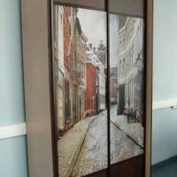 Комбинированные двери с фотопечатью 2